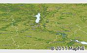 Satellite Panoramic Map of Kyyivs'ka