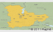 Savanna Style Panoramic Map of Kyyivs'ka