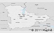Silver Style Panoramic Map of Kyyivs'ka