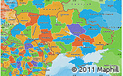 Political Map of Ukraine