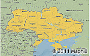 Savanna Style Map of Ukraine