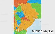 Political Map of Odes'ka