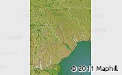 Satellite Map of Odes'ka