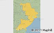 Savanna Style Map of Odes'ka