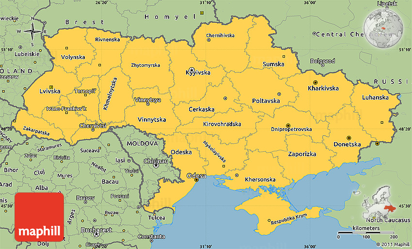 Savanna style simple map of ukraine sciox Image collections