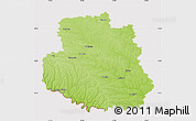 Physical Map of Vinnyts'ka, cropped outside