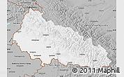 Gray Map of Zakarpats'ka