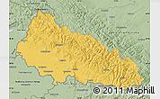 Savanna Style Map of Zakarpats'ka
