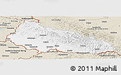 Classic Style Panoramic Map of Zakarpats'ka