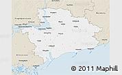 Classic Style 3D Map of Zaporiz'ka