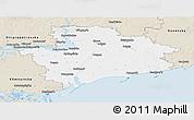 Classic Style Panoramic Map of Zaporiz'ka