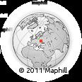 Outline Map of Zhytomyrs'ka