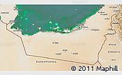 Satellite 3D Map of Abu Dhabi