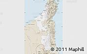 Classic Style Map of Ras Al Khaymah