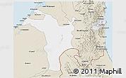 Classic Style 3D Map of Shariqah