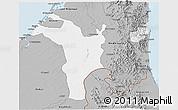 Gray 3D Map of Shariqah