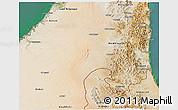 Satellite 3D Map of Shariqah