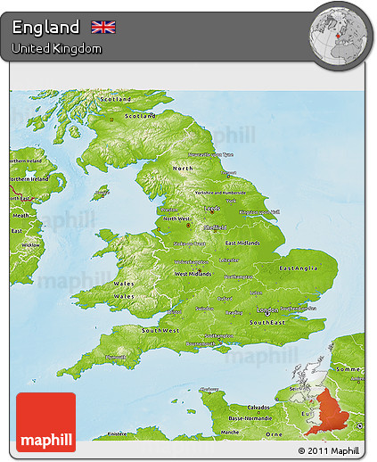 3d Map Of England.Free Physical 3d Map Of England