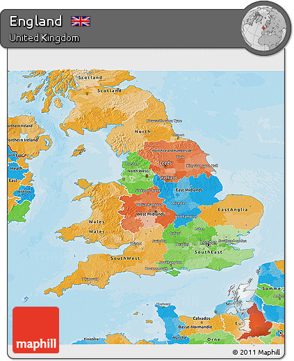 3d Map Of England.Free Political 3d Map Of England