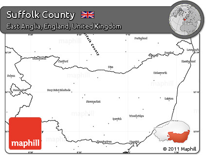 Suffolk County England Map.Free Blank Simple Map Of Suffolk County