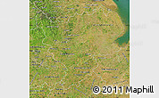Satellite Map of East Midlands