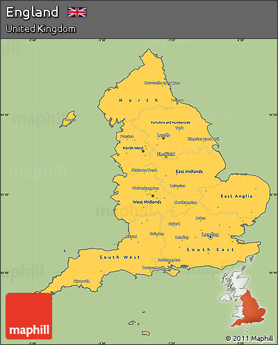 Map Of Just England.Map Of Just England Twitterleesclub