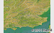 Satellite Map of South East