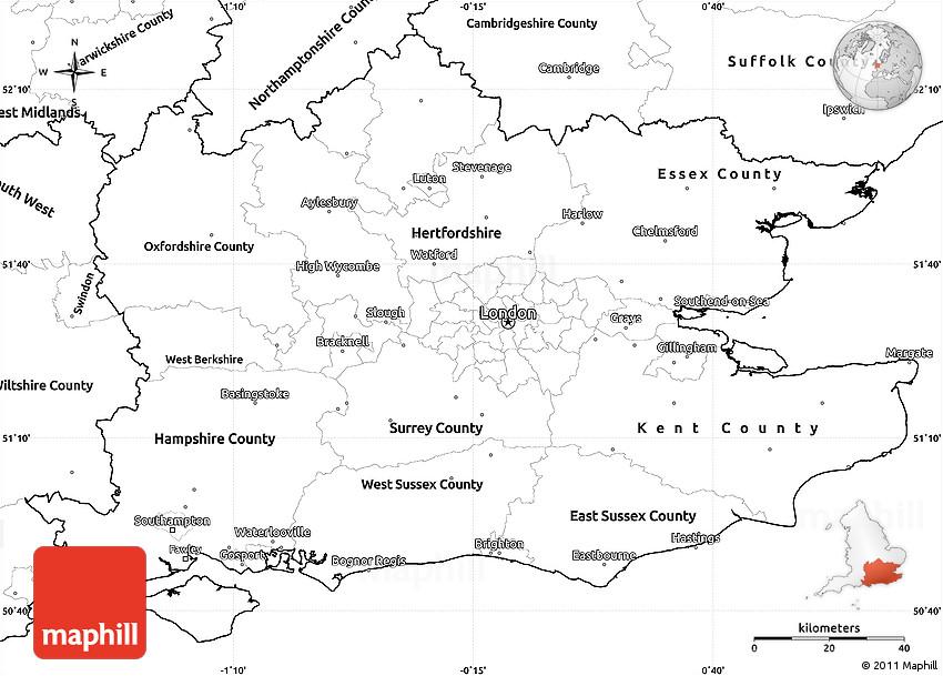 Simple Map Of England.Map Of England Unlabeled Twitterleesclub