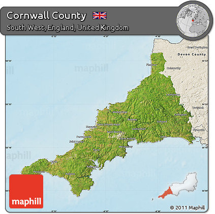 county map england