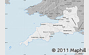 Gray Map of South West