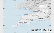 Silver Style Map of South West