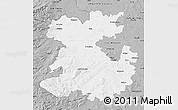 Gray Map of Shropshire County