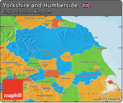 Free Political Map of Yorkshire and Humberside on new york city on map, south carolina on map, usa on map, michigan on map, canada on map, australia on map, new jersey on map, washington on map, holland on map, spain on map, ireland on map, toronto on map, new brunswick on map, france on map, italy on map, texas on map, scotland on map, germany on map, nova scotia on map, virginia on map,