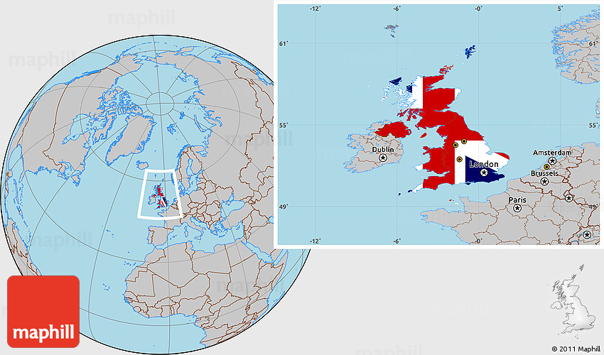 Flag location map of united kingdom gray outside westnortheast gumiabroncs Choice Image
