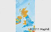 Political Map of United Kingdom