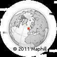 Outline Map of Antrim