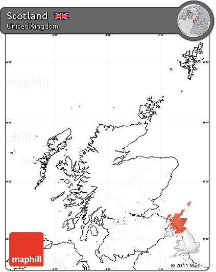 Map Of Uk No Labels.Free Blank Simple Map Of Scotland No Labels