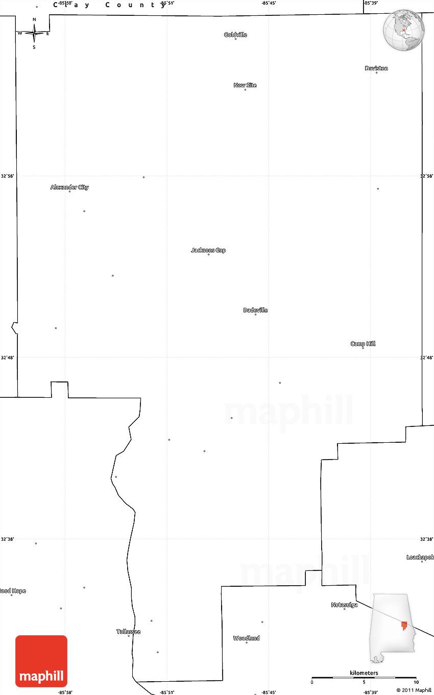 Alabama tallapoosa county - 2d