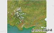 Satellite 3D Map of ZIP code 00001