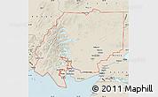 Shaded Relief Map of ZIP code 00001