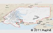 Classic Style Panoramic Map of ZIP code 00001