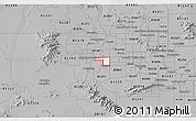 Gray 3D Map of ZIP code 85037