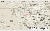 Shaded Relief 3D Map of ZIP code 85037