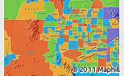 Political Map of ZIP code 85037