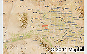 Satellite Map of ZIP code 85037