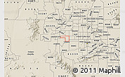 Shaded Relief Map of ZIP code 85037