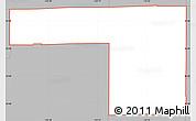 Gray Simple Map of ZIP code 85037