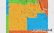 Political Map of Maricopa County