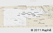 Classic Style Panoramic Map of Maricopa County