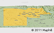 Savanna Style Panoramic Map of Maricopa County